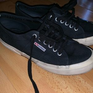 Superga lightly worn sneakers
